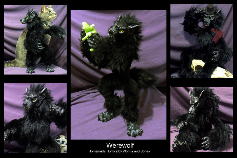 Werewolf by WormsandBones