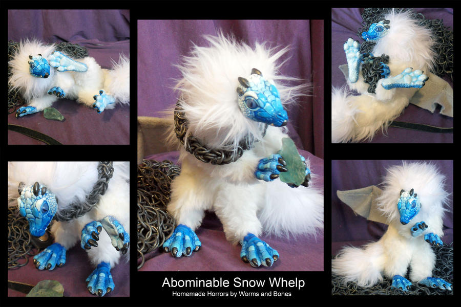 Abominable Snow Whelp by WormsandBones