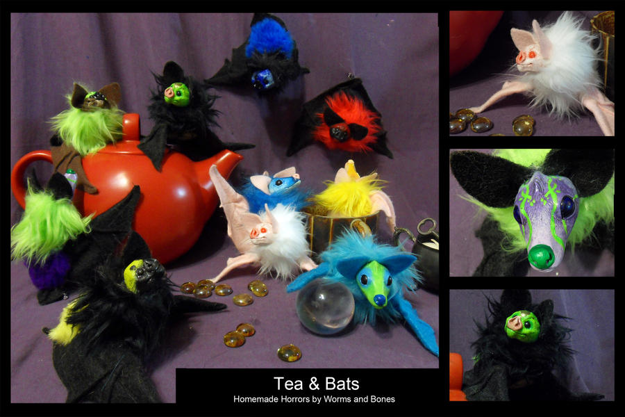 High Tea.... with Bats by WormsandBones