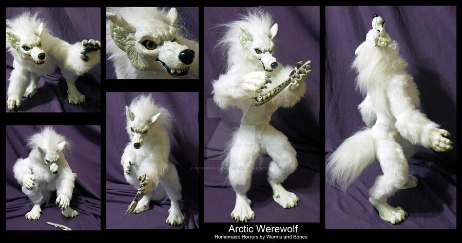 Arctic Werewolf by WormsandBones
