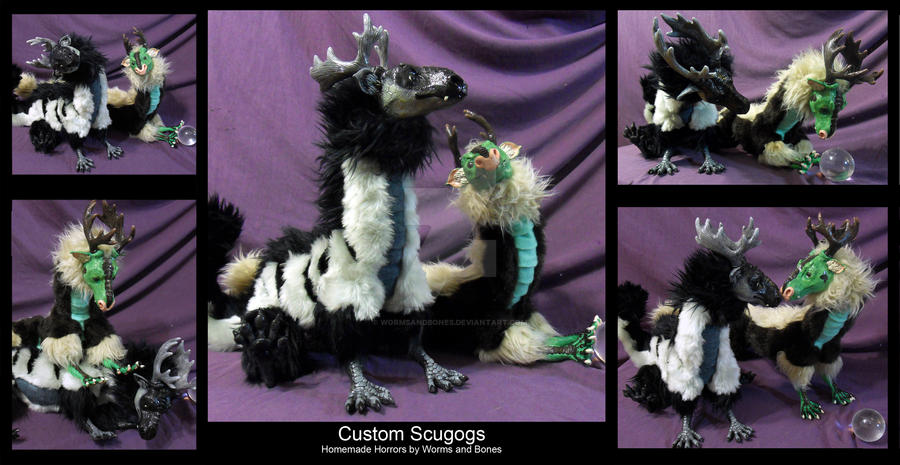 Custom Scugog Pair by WormsandBones