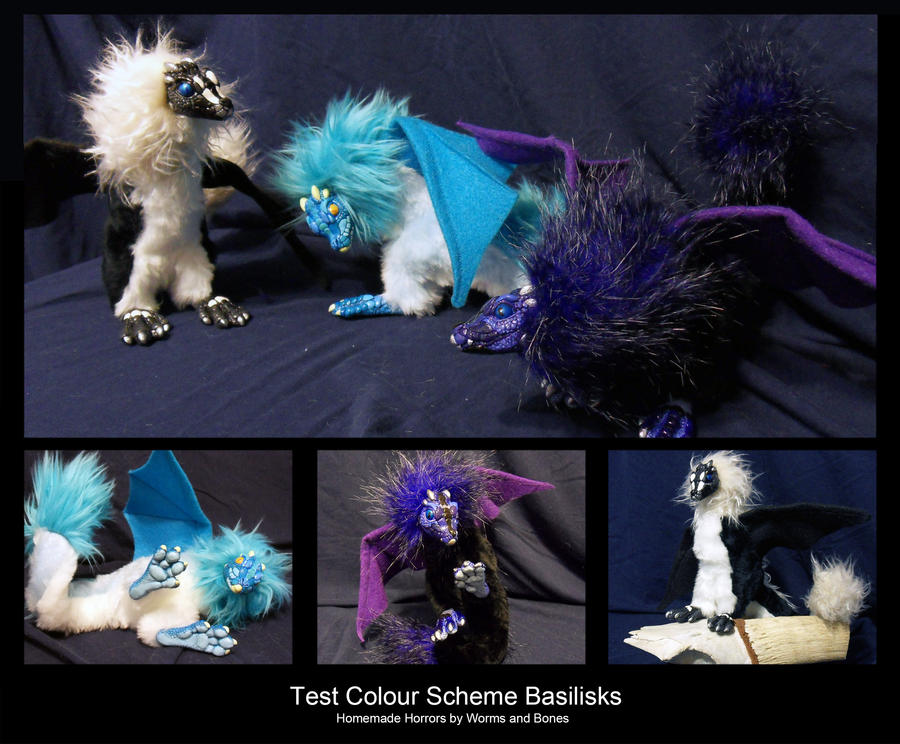 Basilisks - Colour Scheme Tests by WormsandBones