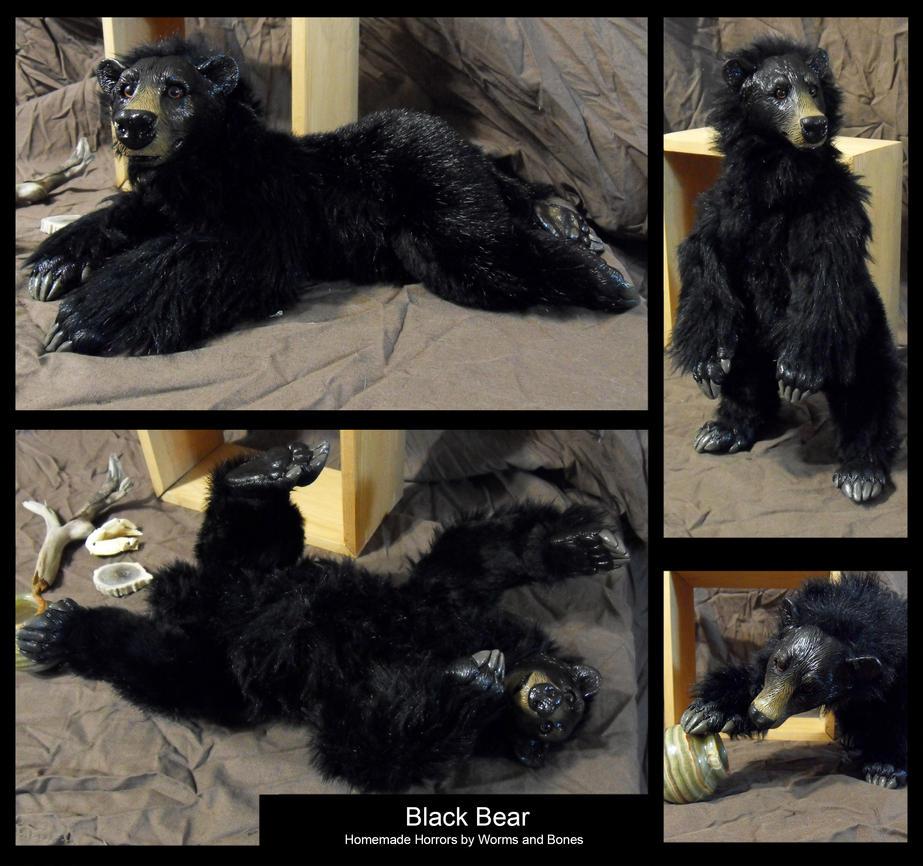 Black Bear by WormsandBones