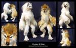 Custom Werewolf Dolls: Gypsy and Blair