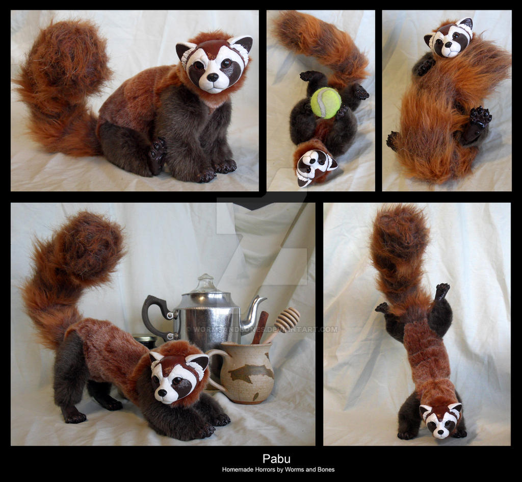 Legend of Korra Pabu Doll by WormsandBones