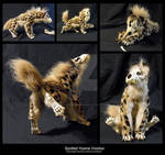 Poseable Spotted Hyena Voodoo