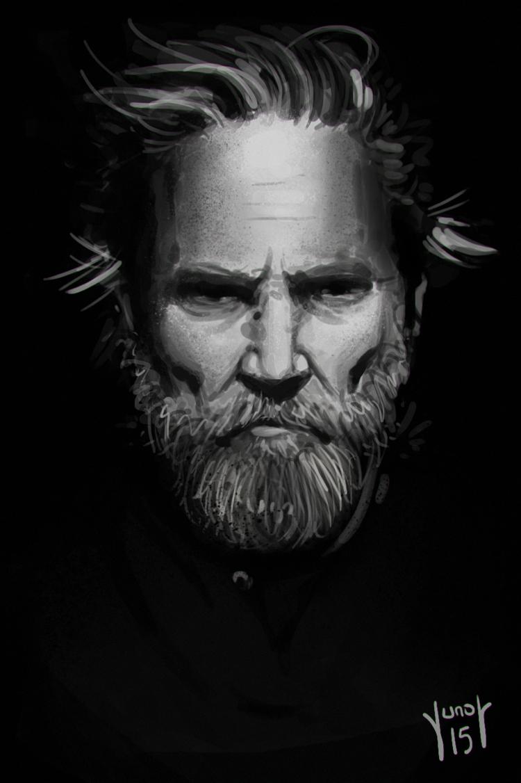 Jeff Bridges by M-Junot