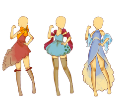 Poke fashion adopts 2 CLOSED by SmilesUpsideDown