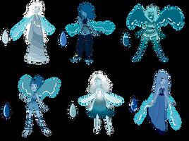 SU Lapis Lazuli Adopts 3 (CLOSED) by SmilesUpsideDown