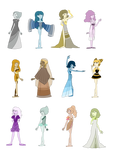 SU HUGE PEARL ADOPTS (ALL SOLD)