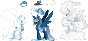MLP Weather Alicorn Adopts (CLOSED) by SmilesUpsideDown