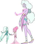 SU Teal And Pink Pearl Fusion Adopt (sold)