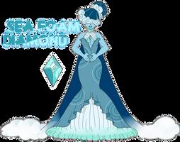 SU Sea Foam Diamond Adopt (ON HOLD) by SmilesUpsideDown