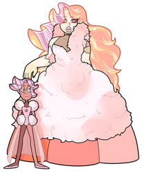 [SU] Dolomite and her Pearl Commission by SmilesUpsideDown