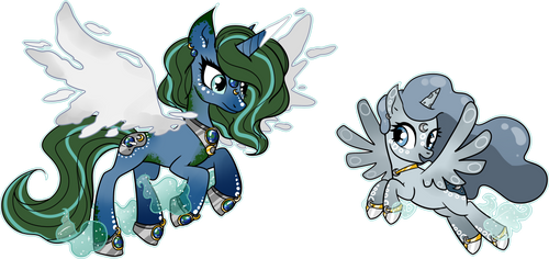 [MLP] Cosmic Ponies adopt - EARTH (SOLD) by SmilesUpsideDown