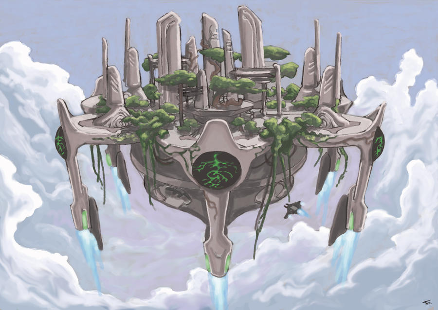 Floating City In The Sky Drawing City in the sky - speedpaintFloating City In The Sky Minecraft