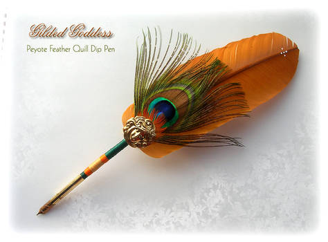 PEYOTE Feather Quill Pen