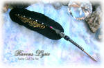 RAVENS LYRIC Feather Pen
