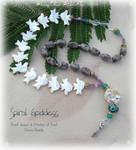 Spiral Goddess 1 Prayer Beads