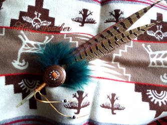 Pheasant feather HAT FEATHER