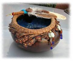 Faery Faith Gourd Bowl by ChaeyAhne