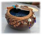 Faery Faith Gourd Bowl