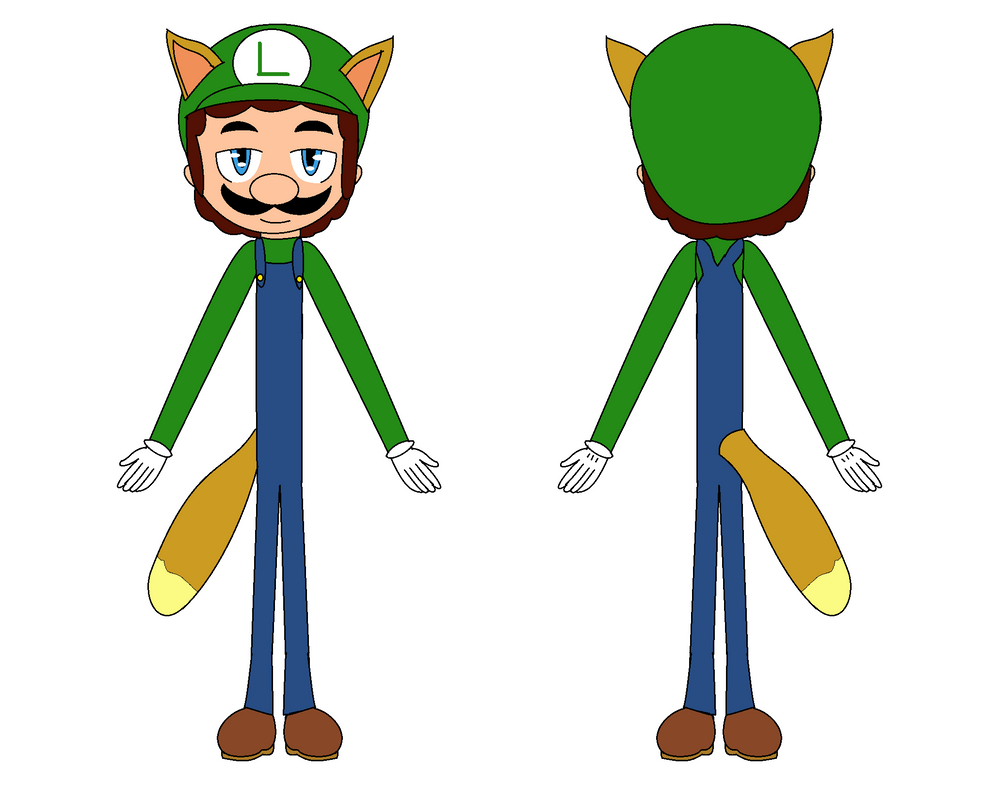 Luigi Raccon - concept by FJesseMCSM