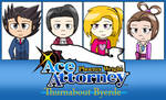 Ace Attorney - Turnabout Byerde by FJesseMCSM