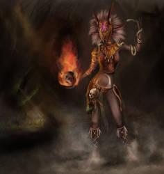 Witch Doctor (Diablo 3 Fanart) *Finish*
