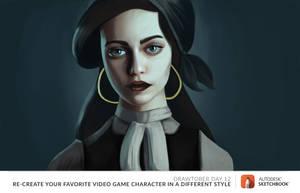 Drawtober 12th - Monday Media: Video Game Styles 2 by dasEvachen
