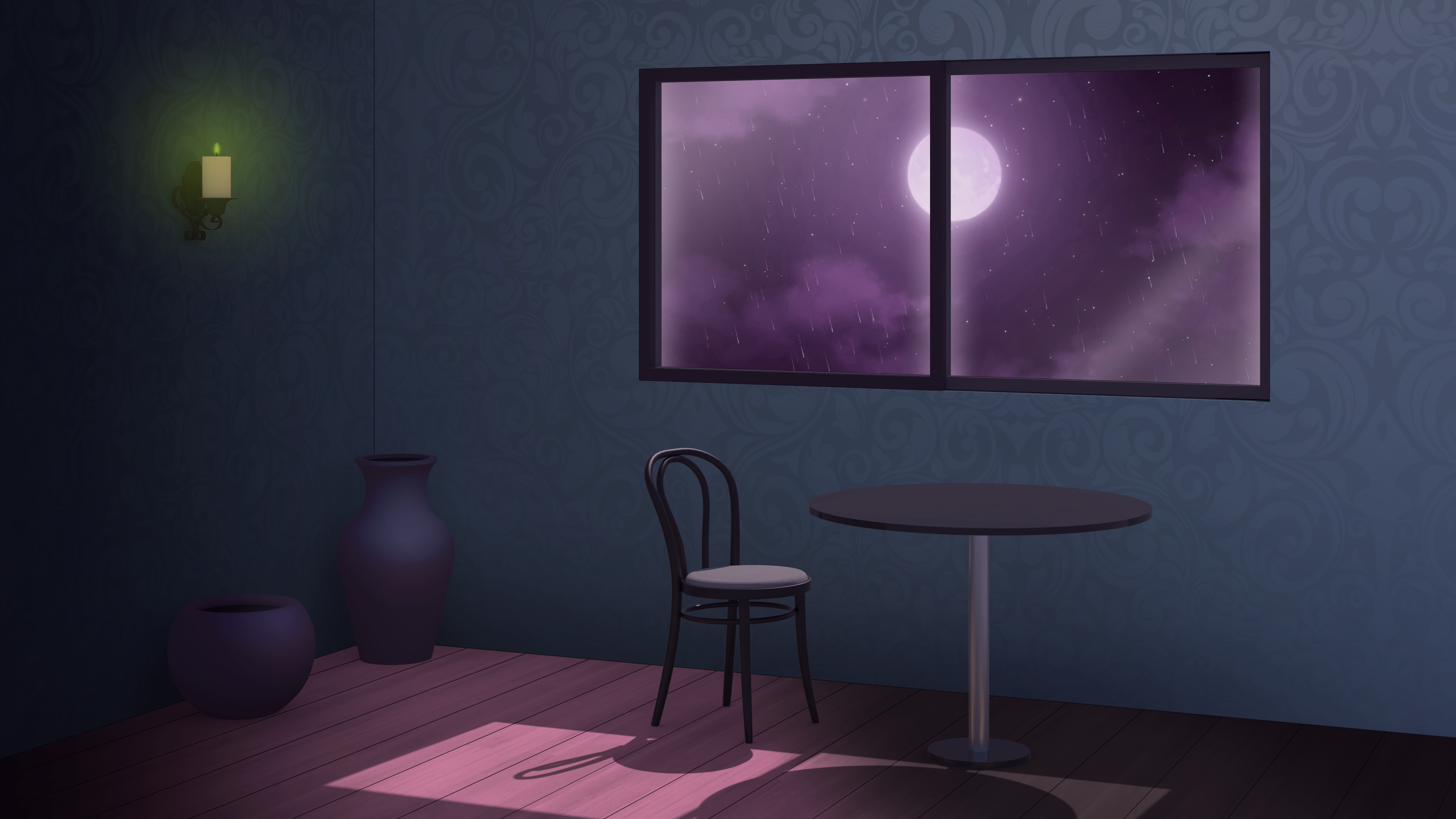 The Room At End Of The Tower Anime Visual Novel Background Animesketch