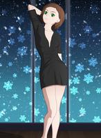 Makoto - Anime / Visual light Novel character by TamagochiKun