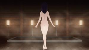 Zoe - Naked Teen in the Thermal Waters by TamagochiKun