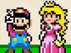 Mario and Peach by Phoenix--Emperor