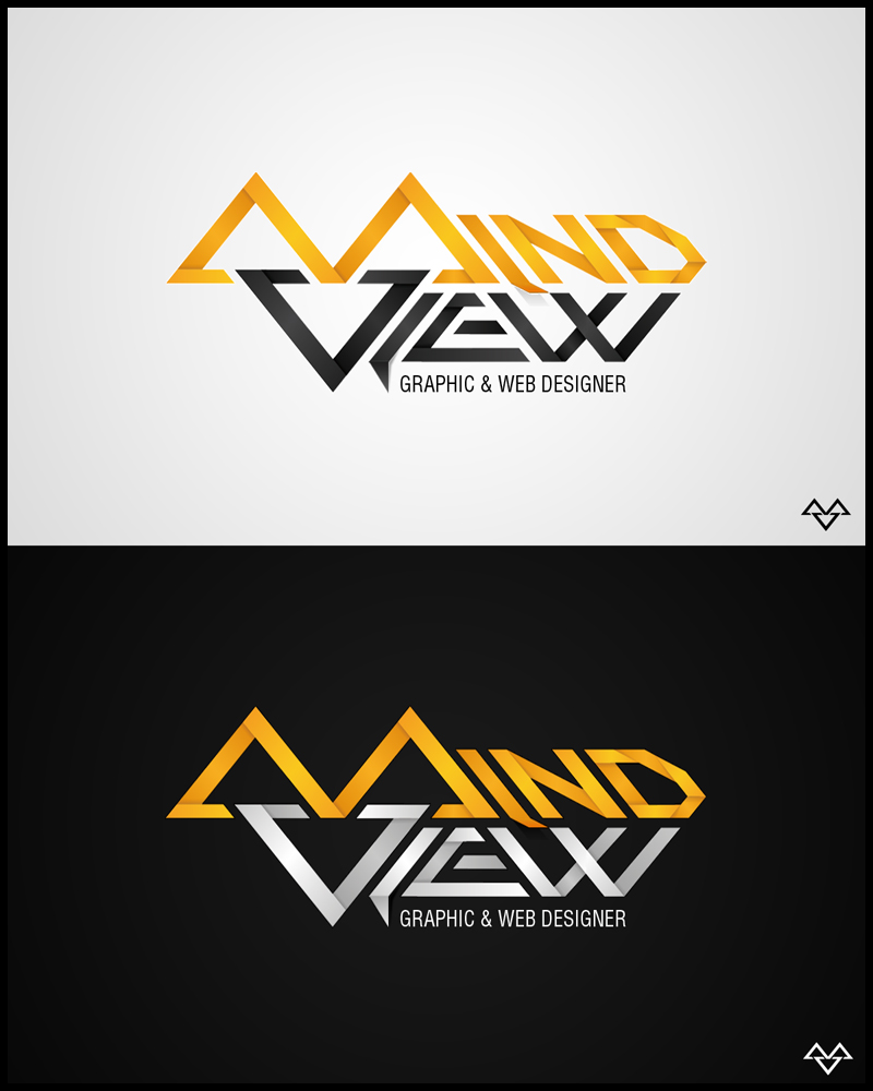 Mindview Logotype by NitroVince High Quality Clear & Concise Logo Designs: Taken From DeviantART