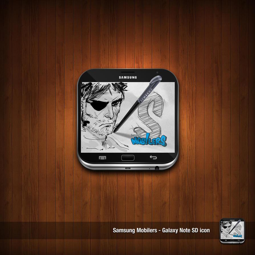 Samsung Galaxy Note Icon by NitroVince