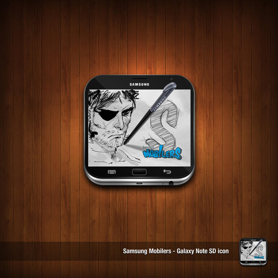 Samsung Galaxy Note Icon by NitroVince