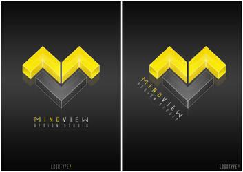 MindView - Logotyp3 by NitroVince