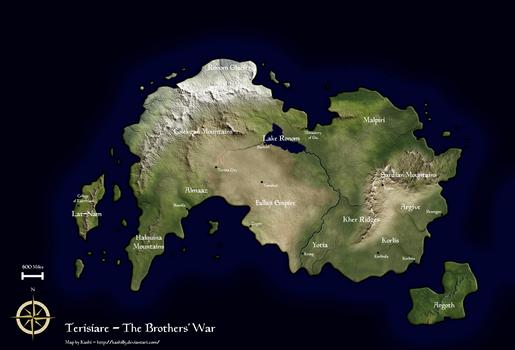 Terisiare- The Brother's War