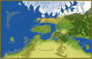 Exalted: Third Edition Map of Creation (1E Style)