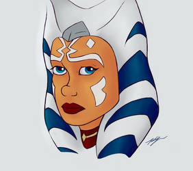 Ahsoka again by Zackaran