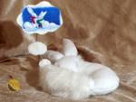 Dreaming Kitsune-Fox Plush