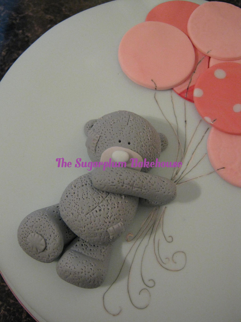 Robert Teddy Cake Artist : Me To You Bear / Tatty Teddy Birthday Cake by SugarplumB ...