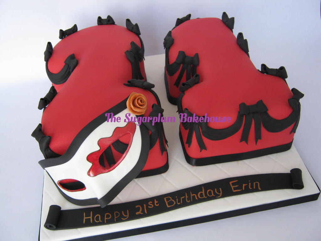 Masquerade St Birthday Cake