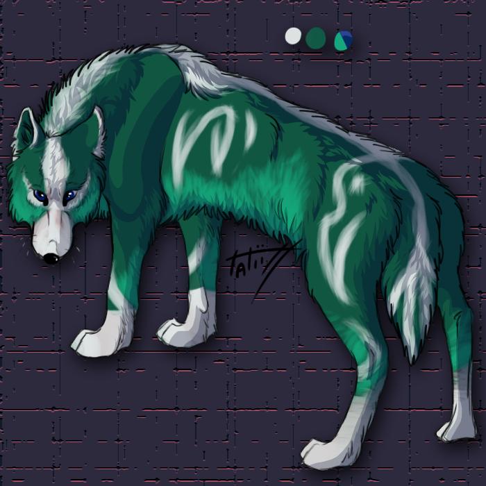 Wolf Adopt3 OPEN by TatiilangeAdoptables