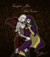 Vampire Miri x Bat-Vonne - Full-body ver. by MiranaWL