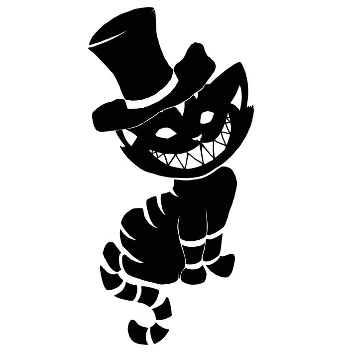 Cheshire Cat Tattoo by duckey5