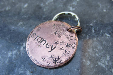 Starry Dog Tag
