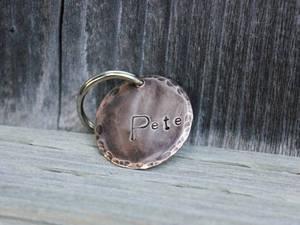 Bronze Pet ID Tag