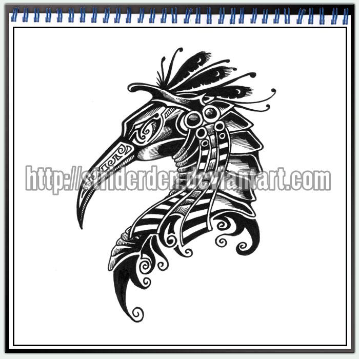 tattoo design 51 thoth by striderden on deviantart. Black Bedroom Furniture Sets. Home Design Ideas